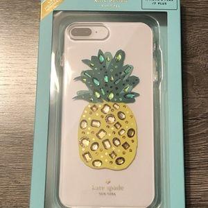 kate spade bling jeweled pineapple iPhone 8 plus